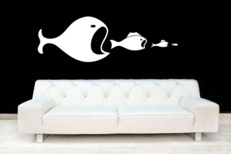 Vinyl Wall Art Bedroom Fish